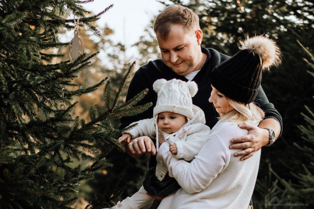 sesja świąteczna w plenerze gdańsk