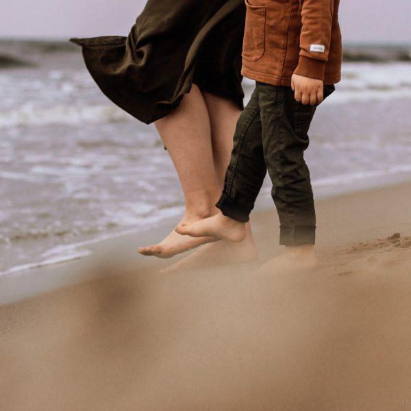 sesja rodzinna nad morzem Gdańsk